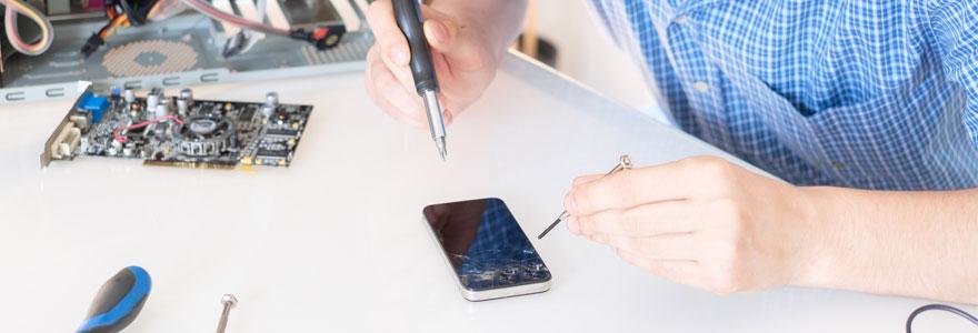 la réparation d'iphone